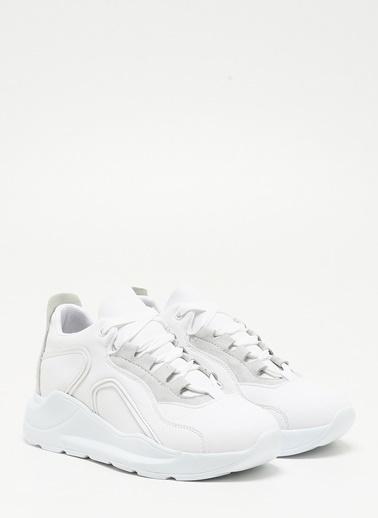 F By Fabrika Kadın Beyaz Sneakers HANNY Beyaz